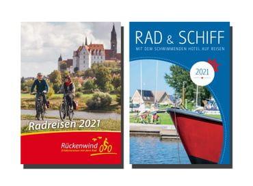 Radreisen Deutschland, Radreisen Europa, Radurlaub, Rad und Schiff, Gruppenreisen Kataloge