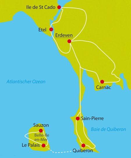 Radreise Südbretagne