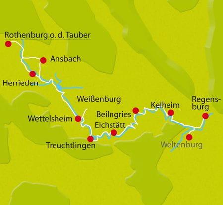 Karte Altmuehl