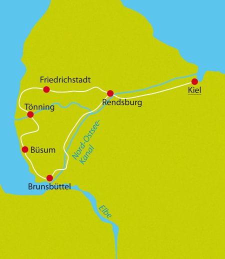 Radreise Nordsee