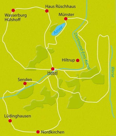 Münster Sternfahrt Radreise