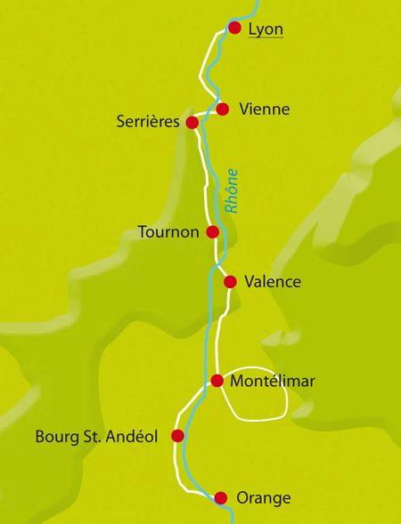 Rhone-Radweg