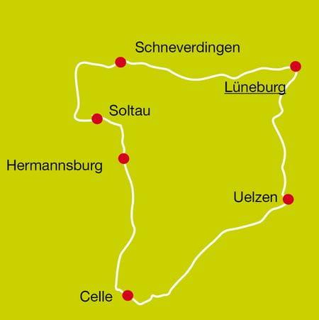 Radreise Lüneburger Heide