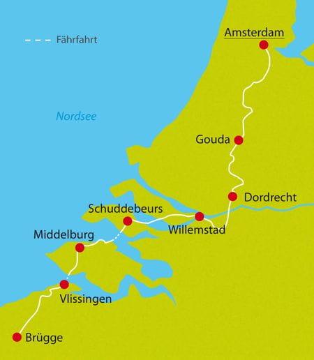 Radreisen Niederlande