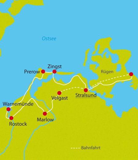 Radreise Biertour Ostsee