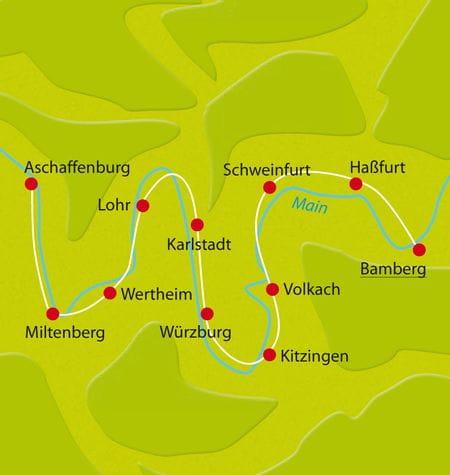 Map Bike Tour Main-Slow