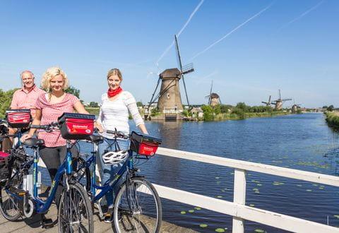 Holland mit Rad und Schiff