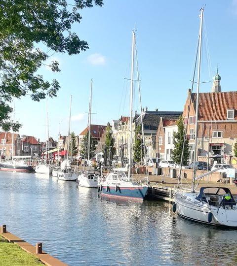 Kanal am Ijsselmeer