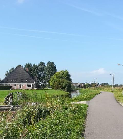 Radweg am Ijsselmeer