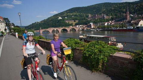 Radreise Rhein und Neckar