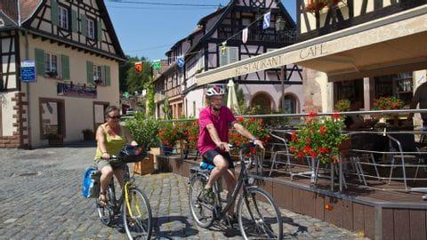 Radreise Elsass