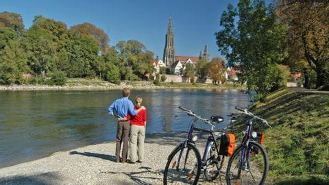 Radurlaub Donauradweg