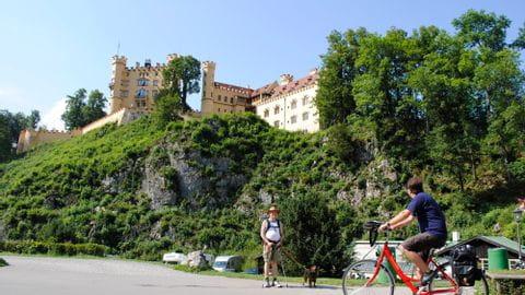 Bike Tour Romantic Street Bavaria
