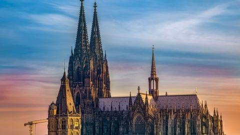 Rad und Schiff Kölner Dom