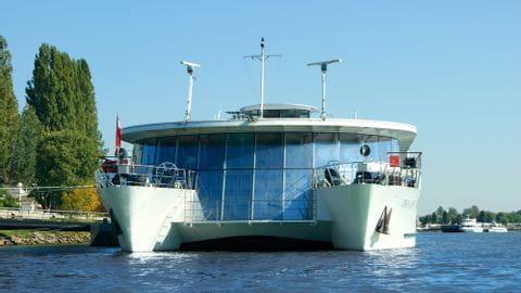 Donau Rad und Schiff