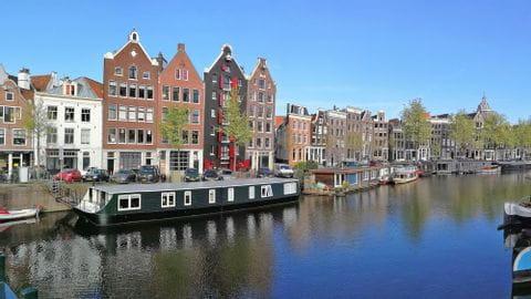 Haus in Amsterdam Radreise Ijsselmeer