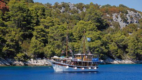 Schiff Dalmatien