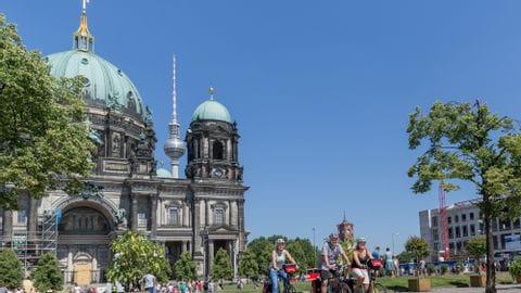 Berlin Radreise