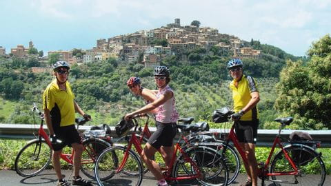 Holidays by bike Florenz-Rome