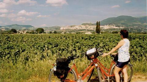 Fahrradtouren Florenz-Rom