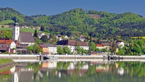 Rad und Schiff Donau Grein Wachau