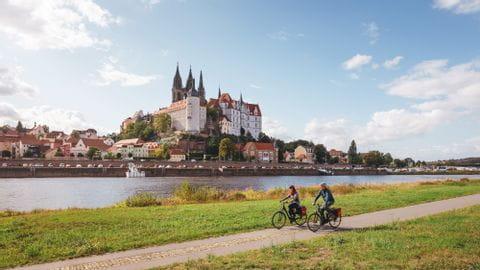 Radurlaub Dresden Schlösser und Parks