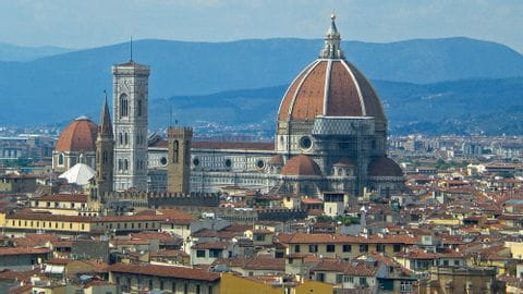 Holidays by bike Rome-Florence