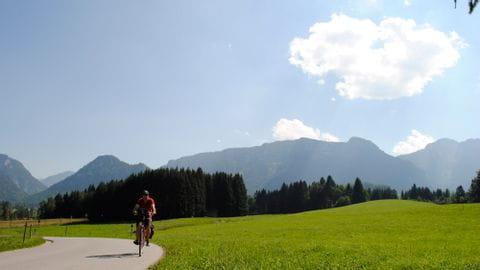 Radurlaub Romantische Strasse Bayern