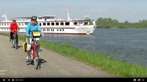 Donau Video mit Rad und Schiff