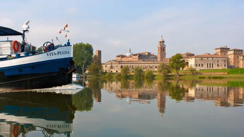 Rad und Schiff Italien