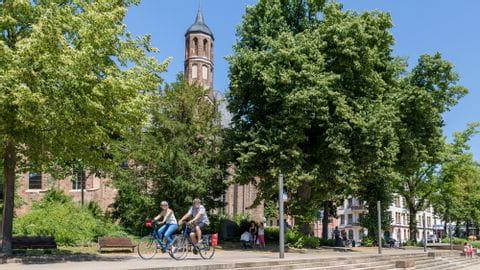 Radreise Potsdam Sternfahrt