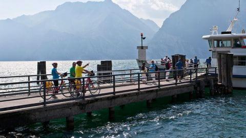 Cycletour Garda lake