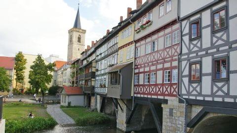 Radreise Erfurt Sternfahrt