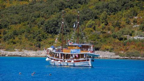 Dalmatien Rad und Schiff