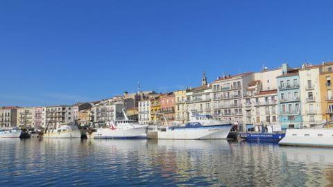 Hafen in Sète