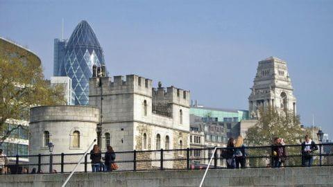 Radreise London