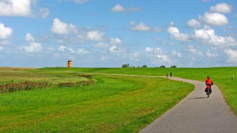 Radurlaub Ostfriesland Küste