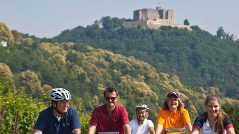 Radurlaub Pfalz Sternfahrt
