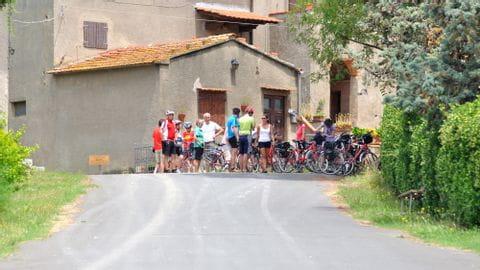 Radreise Toskana