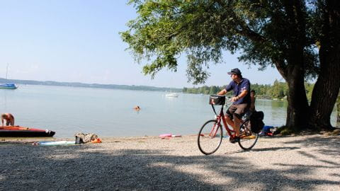 Bike Tour Romantic Street Ammersee