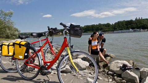 Fahrradreise Donau-Radweg