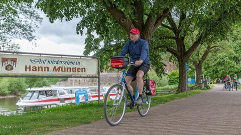Radurlaub Weser