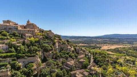 Radurlaub Provence Sternfahrt Gargas