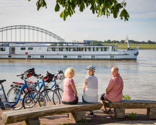 Boat and bike