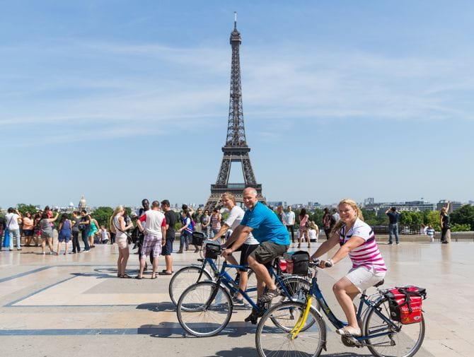 Radreise Paris-London