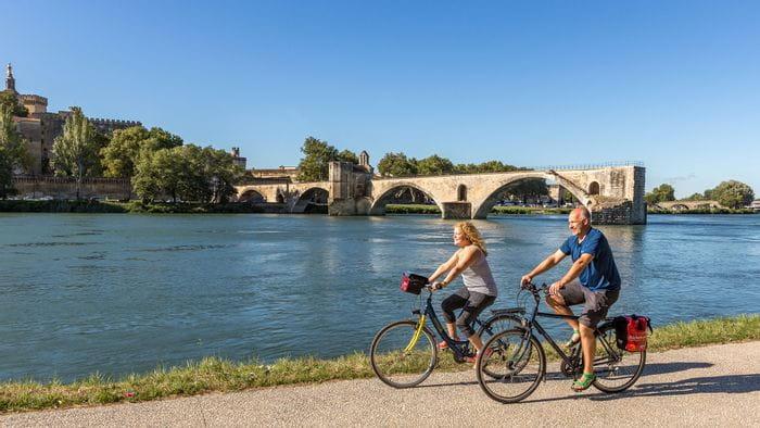 Radurlaub Frankreich Avignon